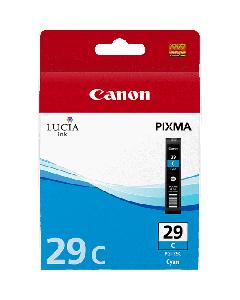 Cartouche d'encre Canon PGI-29C : Cyan - 36ml