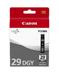 Cartouche d'encre Canon PGI-29DGY : Gris foncé - 36ml