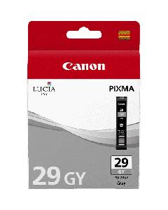 Cartouche d'encre Canon PGI-29GY : Gris - 36ml