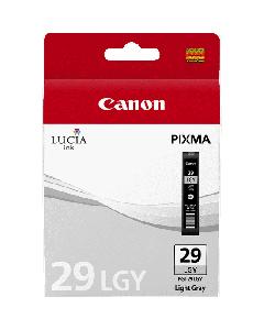 Cartouche d'encre Canon PGI-29LGY : Gris Clair - 36ml