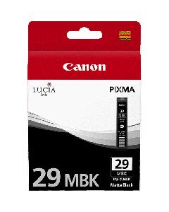 Cartouche d'encre Canon PGI-29MBK : Noir Mat - 36ml