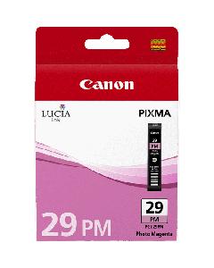 Cartouche d'encre Canon PGI-29PM : Photo Magenta - 36ml