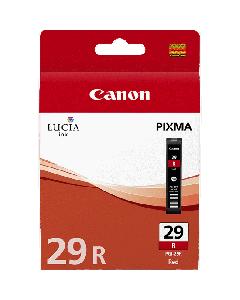 Cartouche d'encre Canon PGI-29R : Rouge - 36ml
