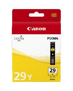 Cartouche d'encre Canon PGI-29Y : Jaune - 36ml