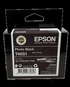 Encre Epson (25ml) pour SureColor P700 : Noir Photo (T46S100)