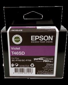 Encre Epson (25ml) pour SureColor P700 : Violet (C13T46SD00)