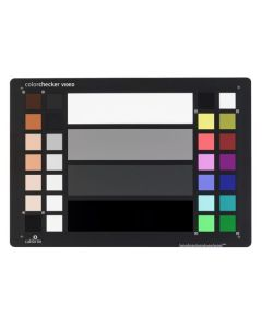 Charte Calibrite ColorChecker Video