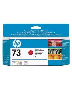 Cartouche CD951A (n°73) pour HP DesignJet Z3200 : Rouge Chromatique 130ml