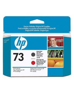 Tête d'impression CD949A (n°73) pour HP DesignJet Z3200 : Noir Mat / Rouge Chromatique