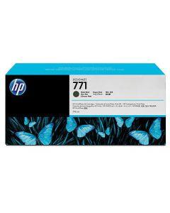 Cartouche CE037A (n°771) pour HP DesignJet Z6200 série : Noir Mat - 775 ml