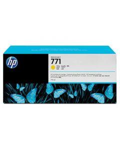 Cartouche CE040A (n°771) pour HP DesignJet Z6200 série : Jaune - 775 ml