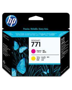 Tête d'impression CE018A (n°771) pour HP DesignJet Z6200 série : Magenta & Jaune