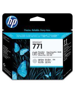 Tête d'impression CE020A (n°771) pour HP DesignJet Z6200 série : Noir Photo & Light Gris