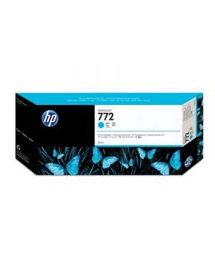 Cartouche CN636A (n°772) pour HP pour Z5200 Cyan - 300ml
