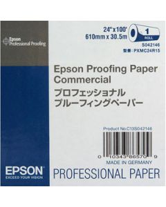 Papier Epson Proofing Commercial 195g, 0,610x 30.5m