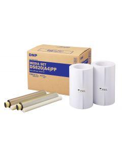 Kit Impression DNP DS820 format A4 Premium - 220 tirages