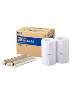 Kit Impression DNP DS820 format A4 Standard - 220 tirages