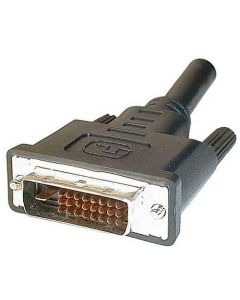 Câble DVI-D dual link (24+1) Mâle/Mâle - 1.80m