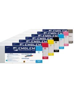 Cartouche compatible Roland EMBLEM : Jaune 440ml