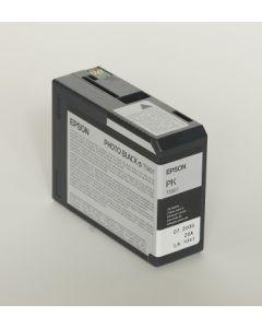 EPSON T5801 (C13T580100) - Cartouche d'encre Noir Photo - 80ml