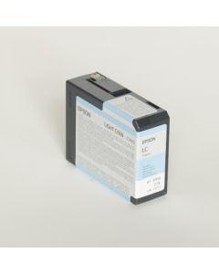 EPSON T5805 (C13T580500) - Cartouche d'encre Cyan Clair - 80ml