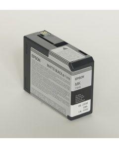 EPSON T5808 (C13T580800) - Cartouche d'encre Noir Mat - 80ml