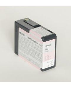 EPSON T580B (C13T580B00) - Cartouche d'encre Vivid Magenta Clair - 80ml