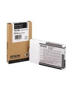 EPSON T6138 (C13T613800) Encre Noir Mat 110ml