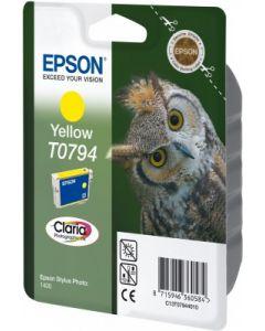 Encre Epson (Chouette) pour Stylus Photo 1400: Jaune