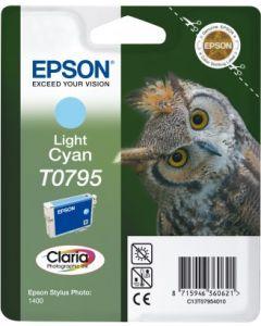 Encre Epson (Chouette) pour Stylus Photo 1400: cyan clair