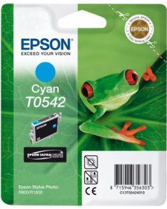 Encre Epson T0542 (Grenouille) pour Stylus Photo R800 et R1800  : cyan