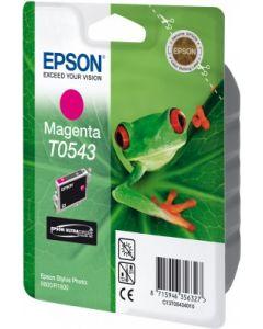Encre Epson T0543 (Grenouille) pour Stylus Photo R800 et R1800  : magenta