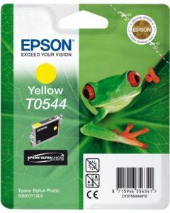 Encre Epson T0544 (Grenouille) pour Stylus Photo R800 et R1800  : jaune