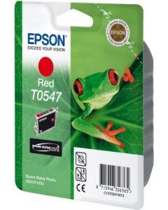 Encre Epson T0547 (Grenouille) pour Stylus Photo R800 et R1800  : rouge