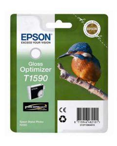 Encre Epson T1590 (Martin Pêcheur) Stylus Photo R2000 : optimiseur de brillance