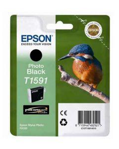 Encre Epson T1591 (Martin Pêcheur) Stylus Photo R2000 : noir photo