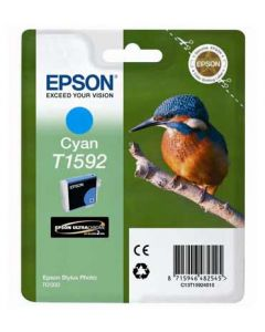 Encre Epson T1592 (Martin Pêcheur) Stylus Photo R2000 : bleu