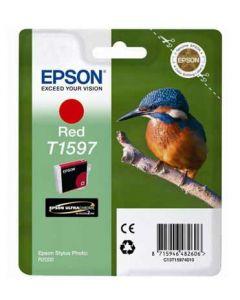 Encre Epson T1597 (Martin Pêcheur) Stylus Photo R2000 : rouge