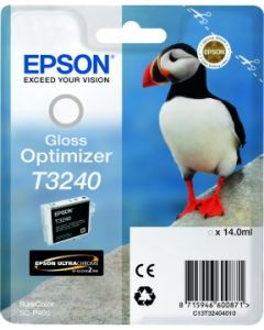 Encre Epson T3240 pour SureColor P400 : Optimisateur de Brillance (C13T32404010)