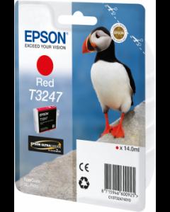 Encre Epson T3247 pour SureColor P400 : Rouge (C13T32474010)