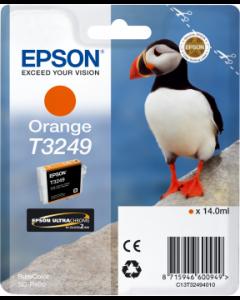 Encre Epson T3249 pour SureColor P400 : Orange (C13T32494010)