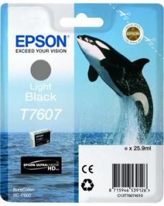 Encre Epson T7607 (Orque) pour SureColor P600 : Gris (C13T76074010)