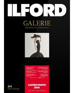 Papier Ilford Galerie Lustre Photo Duo 330g A4 25 feuilles