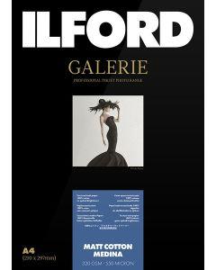 Papier Ilford Galerie Matt Cotton Medina  320g A4 25 feuilles