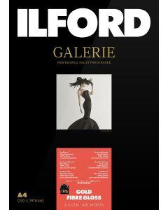 Papier Ilford Galerie Prestige Gold Fibre Gloss 310g 10x15cm 50 feuilles