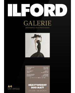Papier Ilford Galerie Prestige Heavyweight Duo Matt 310g A4 25 feuilles