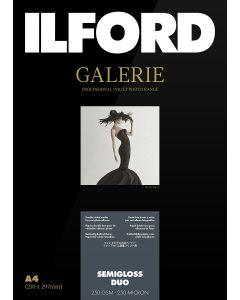 Papier Ilford Galerie Prestige Semigloss Duo 250g A4 25 feuilles
