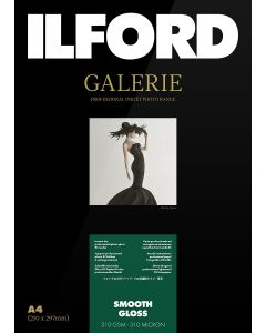 Papier Ilford Galerie Prestige Smooth Gloss 310g A4 25 feuilles