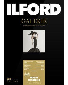 Papier Ilford Galerie Prestige Washi Torinoko 110g 10 x 15cm,  50 feuilles