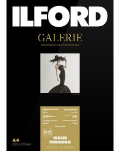Papier Ilford Galerie Prestige Washi Torinoko 110g 13x18 50 feuilles